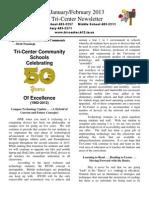 JanFeb 2013 School Newsletter