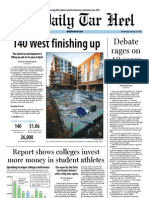 The Daily Tar Heel for January 23, 2013