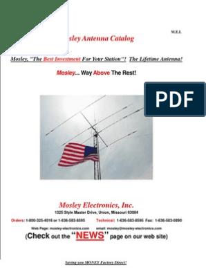 2011   Antenna (Radio)   Coaxial Cable