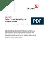 Brocade Switch Types