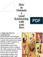 relationhip ur boss