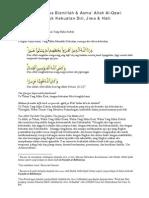 Wirid Bismillah &Asma Al-Qawi Untuk Kekuatan Diri Lahir & …