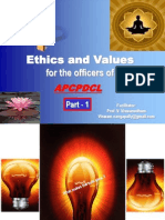 2013 Jan 09 - Ethics and Values - Part 1 – APCPDCL - [Please download and view to appreciate better the animation aspects ]