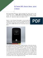 HUAWEI E589 4G Tasche WiFi Router Revue -Glatt Und Stabil 4G Router
