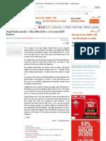 IndianExpress Article - Sunil Joshi Murder NIA Bribing to Name RSS