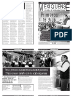 Versión impresa del periódico El mexiquense 21 enero 2013