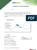 Configuration Du Firewall en Mode Transparent