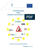 European Truck Accident Causation Study (ETAC) – Executive Summary
