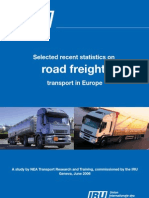 Selected recent statistics on road freight transport in Europe