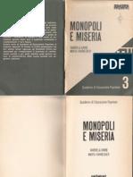 Monopoli e Miseria - Quaderno 3