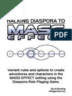 Hacking Diaspora to Mass Effect v2.02