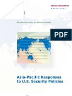 Asia Pacific Responses to Us Security Policies Book Final