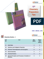 HSC Chemistry Preparation Tips Part - II