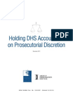 AILA and AIC Release Survey Findings on DHS's Exercise of Prosecutorial Discretion in Immigration Court