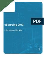 esourcing forum information brochure 2013