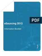 esourcing forum information brochure 2013