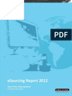 state of flux  esourcing report 2012