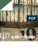 Y SIN EMBARGO magazine 10, desterritorialización
