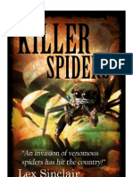Killer Spiders by Lex Sinclair