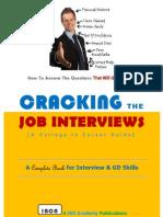 Cracking The Job Interviews
