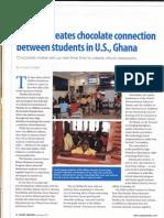 Chocolate Education using Hybrid technologies Hersheys Ghana #BEconf13 #Hybrid #chocolate