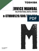e-STUDIO520/600/720/850 service manual
