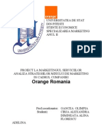 Mix de marketing la Orange