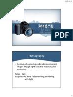 Photo Presentation CA 140