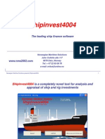 Shipinvest4004 Introduction - Executive version