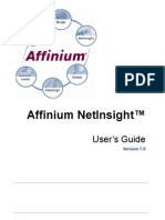 Aff in i Um Net Insight 70 User Guide