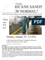 Uptown Climate Change Conference