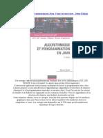 Algorithmique Et Programmation en Java