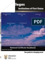 FET Colleges - Institutions of First Choice