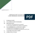 FERTILIDAD DEL GANADO CEBU
