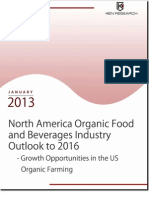 North America Organic Food and Beverages Industry Outlook to 2016 - Growth Opportunities in the US Organic Farming