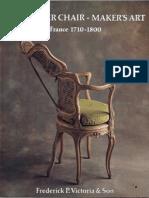 The Master Chair Maker's Art