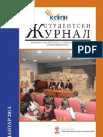 STUDENTSKI ŽURNAL BR. 9