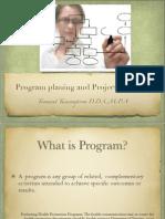 program planing