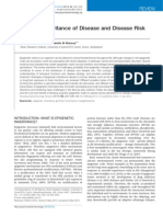 Epigenetic Inheritance of Disease and Disease Risk (Jan 2013)
