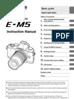 Olympus OM-D E-M5 Manual