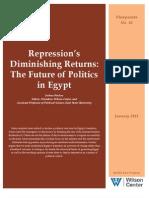 Repression's Diminishing Returns
