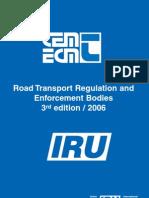Road Transport Regulating & Enforcement Bodies - 2006 Edition