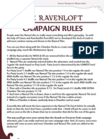 Campaign Rules for Dungeons and Dragons Castle Ravenloft Wrath of Ashardalon Legend of Drizzt Adventure System