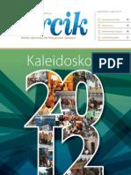 Majalah Air Minum dan Penyehatan Lingkungan 'PERCIK' Edisi Kaleidoskop 2012