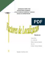 factores de localiuzacion
