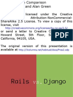 Rails/Django Comparison