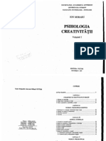 Psihologia Creativitatii - Ion Moraru