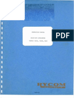 Rycom Model 3121B, 3126B, 3132 Selective Levelmeter ~ Instruction & Maintenance Manual,  March 1972.