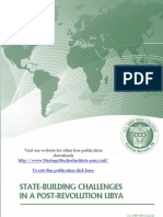 State-Building Challenges in a Post-Revolution Libya