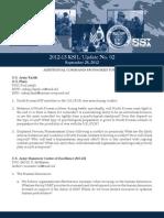 2012-13 Key Strategic Issues List (KSIL) Update No. 02